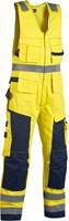 Blaklader 26781506 Multinorm Amerikaanse overall Geel/Navy