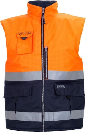 Hydrowear Metz bodywarmer-S-Oranje/Navy