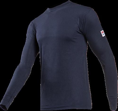 Sioen Beltane Vlamvertragende en Antistatische T-shirt met lange mouwen-XS-Marineblauw