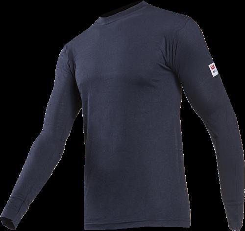Sioen Teramo Vlamvertragende T-shirt met lange mouwen-S-Marineblauw