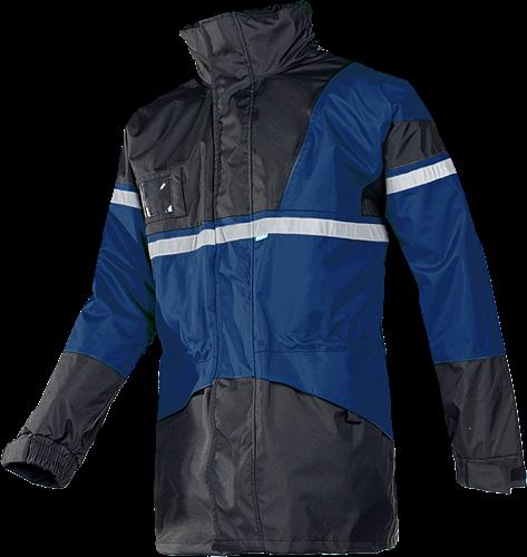 Sioen Cloverfield Regenparka Met Uitneembare Bodywarmer-S-Marine/Zwart