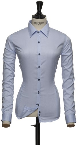J.H&F Red Bow 21 Dames Blouse