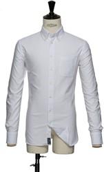 J.H&F Indigo Bow 30 Slim Fit Overhemd
