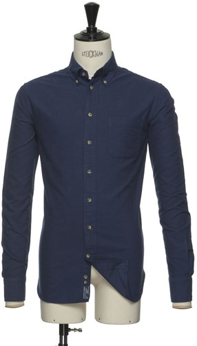 J.H&F Indigo Bow 31 Regular Overhemd