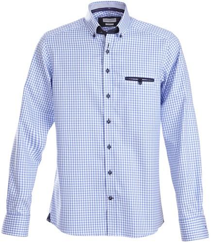 J.H&F Purple Bow 41 Slim fit Overhemd