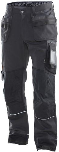 Jobman 2922 Werkbroek HP-C146-Donker Grijs/Zwart