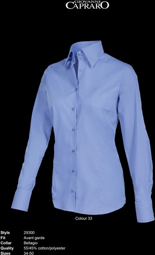 Giovanni Capraro 29300-33 Blouse - Blauw