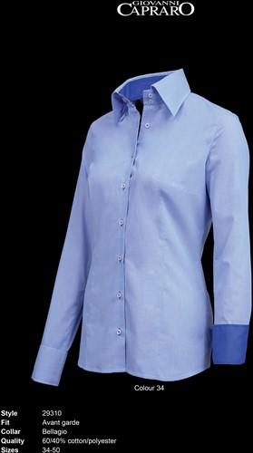 Giovanni Capraro 29310-34 Blouse - Blauw [Navy accent]