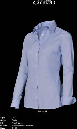 Giovanni Capraro 29321-34 Blouse - Licht Blauw