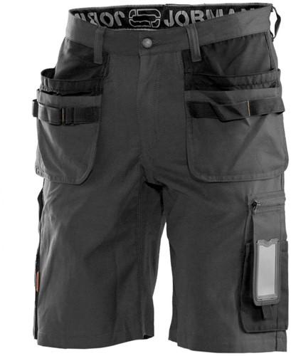 Jobman 29 Korte Werkbroek HP-C44-Donker Grijs/Zwart