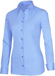 Giovanni Capraro 29336-32 Blouse - Licht Blauw