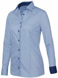 Giovanni Capraro 29339-32 Blouse - Licht Blauw [Navy accent]