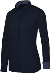 Giovanni Capraro 29339-39 Blouse - Navy [Blauw accent]
