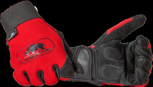 SIP Handschoen 2XA2-412 - Rood/Zwart-8