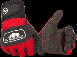 SIP Handschoen 2XD1-412 - Rood/Zwart