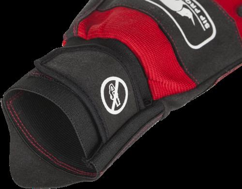 SIP Handschoen 2XD1-412 - Rood/Zwart-8-2