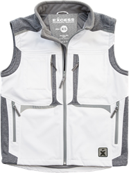 Excess 416 Bodywarmer Active PRO - Wit/Grijs