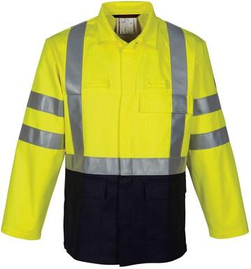 Havep Multi Protector Korte jas/Vest-H46-Marine/fluo geel