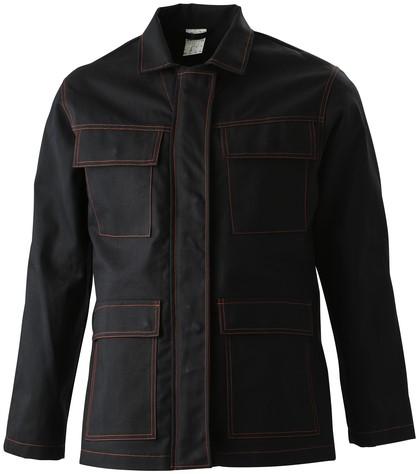 Havep Guard Korte jas/Vest-Zwart/Rood-H46