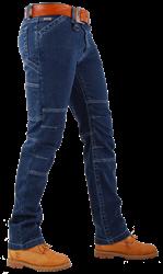 CrossHatch Spijkerbroek Toolbox-LS