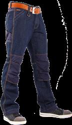 CrossHatch Spijkerbroek Toolbox-C Stretch