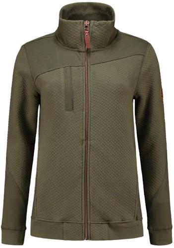 Tricorp Sweater Premium Ritskraag Dames