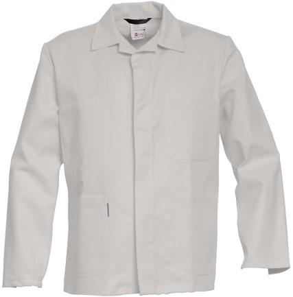 Havep Basic Korte jas/Vest-Wit-H46