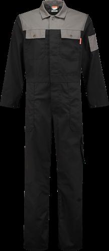 Workman 3068 Utility Overall - Zwart/Grijs