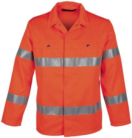 Havep High Visibility Korte jas/Vest-Fluo Oranje-H46