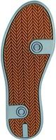 Redbrick Flint Toe cap Black S3-2