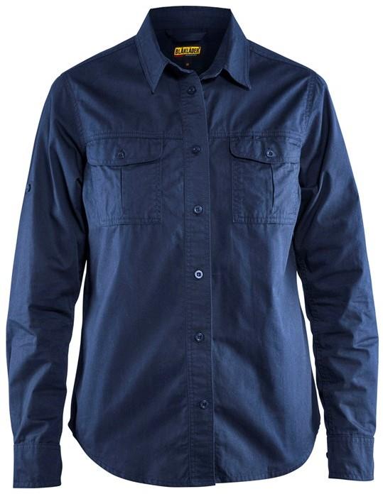 Dames Overhemd.Blaklader 32081135 Dames Overhemd Twill Workwear4all