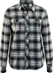 Blaklader 32091136 Dames Overhemd Flanel Zwart/Off-White