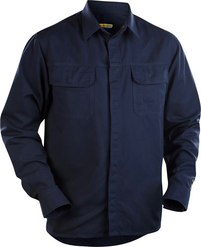 Blaklader 32271515 Overhemd vlamvertragend Navy-1