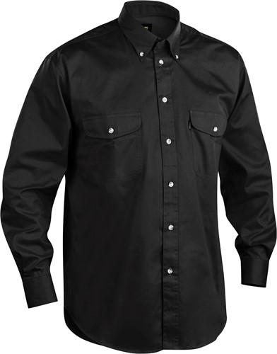 Blaklader 32301135 Twill Overhemd-Zwart-S