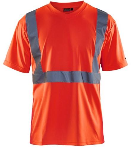 Blaklader 33131009 T-Shirt High Vis-S-Fluor Rood