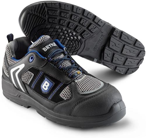 Brynje Schoen Reflex 331 S1P ESD - Zwart/Blauw