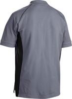 Blaklader 33241050 Poloshirt Piqué-Grijs/Zwart-XXS-2