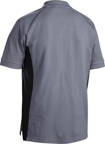 Blaklader 33241050 Poloshirt Piqué-Grijs/Zwart-XXS