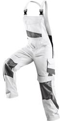 KÜBLER PULSSCHLAG Amerikaanse overall Wit/Antraciet Katoen/Polyester