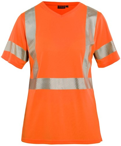Blaklader 33361013 Dames High Vis T-shirt-Oranje-XS