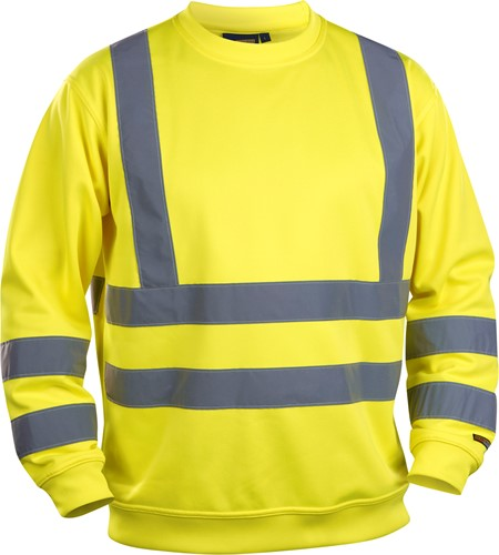 Blaklader 33411974 Sweatshirt High Vis-1