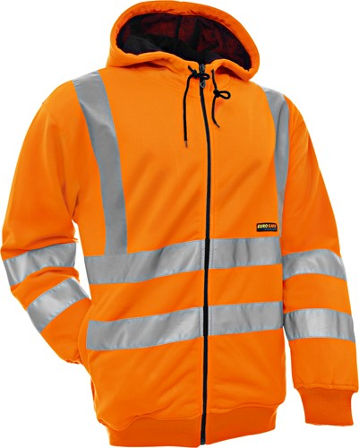Blaklader 33461974 Hooded Sweatshirt High Vis-Oranje-XS