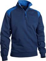 Blaklader 33531158 Sweatshirt Bi-Colour met halve rits-1