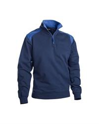 Blaklader 33531158 Sweatshirt Bi-Colour met halve rits