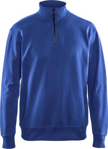 Blaklader 33691158 Sweatshirt met halve rits-XS-Korenblauw