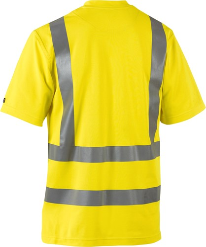 Blaklader 33801070 T-Shirt High Vis UPF 40+ UV-2