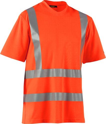 Blaklader 33801070 T-Shirt High Vis UPF 40+ UV-Oranje-XS