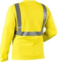 Blaklader 33831011 T-shirt lange mouw High Vis