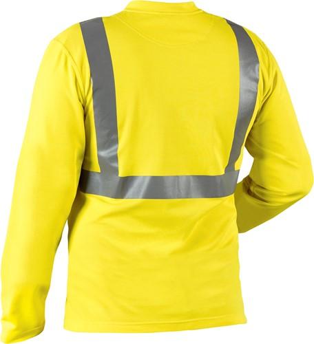 Blaklader 33831011 T-shirt lange mouw High Vis-2