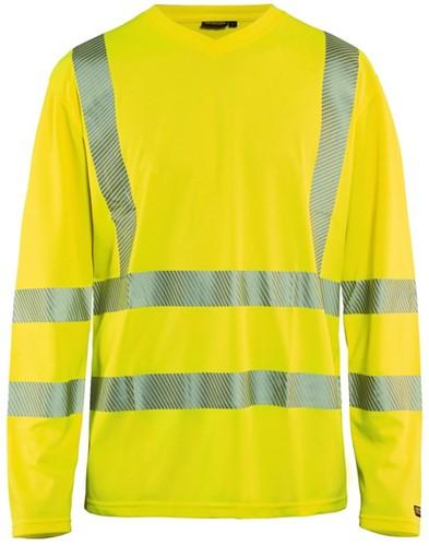 Blaklader 33851013 T-shirt lange mouw High Vis